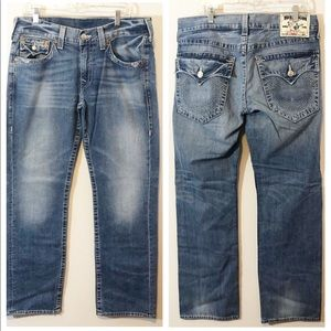 True Religion Straight style jeans  34/33